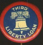 Third Liberty Loan World War I Pin