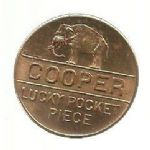 Myers Cooper Lucky Pocket Piece