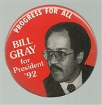 Bill Gray Progress for All