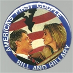 Bill and Hillary Americas First Couple