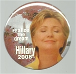 Hillary Realize the Dream