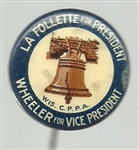 LaFollette-Wheeler Liberty Bell