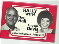 Rally With Gus Hall, Angela Davis