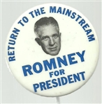 Romney Return to the Mainstream