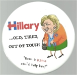 Hillary Out of Touch