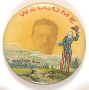 Theodore Roosevelt Uncle Sam Welcome Sunrise