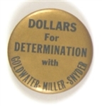 Goldwater Dollars for Determination Kentucky Coattail