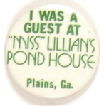 I Was Guest at Miss Lillian's Pond House