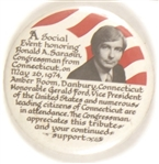 Ford-Sarasin Connecticut Fundraiser Pin