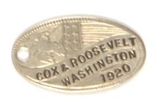 Cox-Roosevelt Luggage Tag