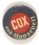 Cox and Roosevelt Celluloid