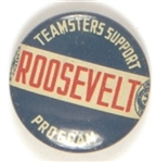Teamsters Support Roosevelt