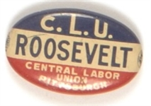 Franklin Roosevelt Pittsburgh Union