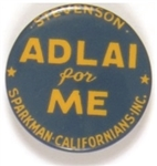 Adlai for Me California
