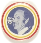 George McGovern Colorful Celluloid