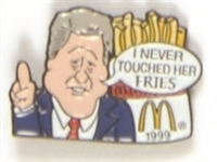 Bill Clinton McDonalds Fries