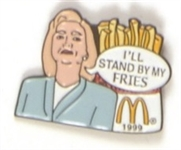 Hillary Clinton McDonalds Fries