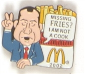Richard Nixon McDonalds Fries