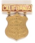 McKinley California Medal from 1896 Convention