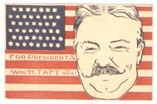 Taft for President Postcard