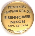 Eisenhower 1956 Kick-Off, Whittier California