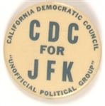 California Democratic Council JFK