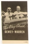 Dewey-Warren The Way Ahead Postcard