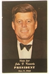 JFK Election Day Postcard