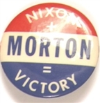 Nixon, Morton Kentucky Coattail