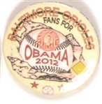 Obama Baltimore Orioles