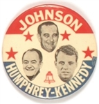 Johnson, HHH, Robert Kennedy New York Liberal Party