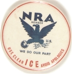 NRA Use Clear Ice