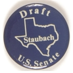 Draft Staubach for U.S. Senate