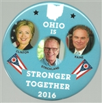 Clinton Ohio Stronger Together Coattail
