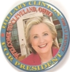 Hillary Clinton Cleveland Event Pin