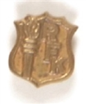 Robert Kennedy Shield and Torch Pin