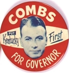 Combs for Governor, Put Kentucky First