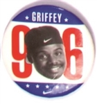 Griffey for President Nike Pin