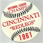 Cincinnati Reds 1961 National League Champs
