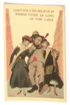 Anti Suffrage Believe in Wimins Votes Postcard