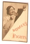 Womans Rights Anti Suffrage Postcard