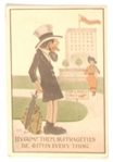 By Gum! Anti Suffrage Postcard