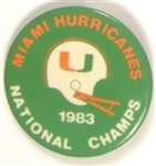 Miami Hurricanes National Champs