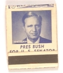 Prescott Bush Connecticut Matchbook