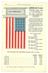 Cox and Harding American Flag Advertisement