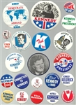 Ted Kennedy Collection of 40  Pins