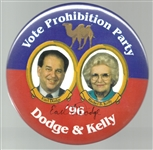 Dodge-Kelly Signed Prohibition Party 6 Inch Jugate