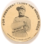 Roosevelt, for President Teddy the Rough Rider