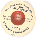 Stevenson Vote Straight Democratic Red Apple