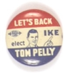 Let's Back Ike and Pelly Washington Coattail